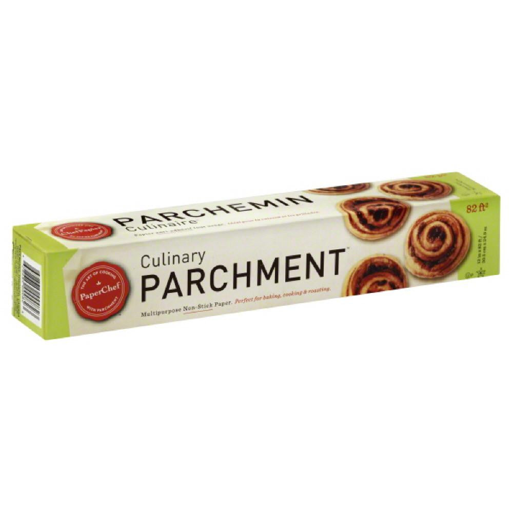 PaperChef Non-Stick Culinary Parchment Paper, 82 Ft (Pack of 12)