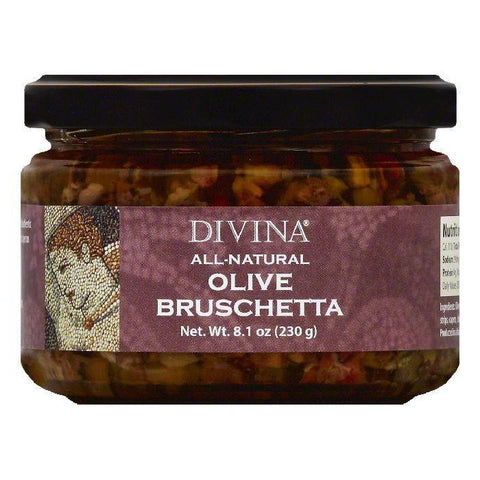 Divina Olive Bruschetta, 8.1 OZ (Pack of 6)