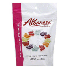 Albanese Mini Gummi Butterflies, 9 Oz (Pack of 6)