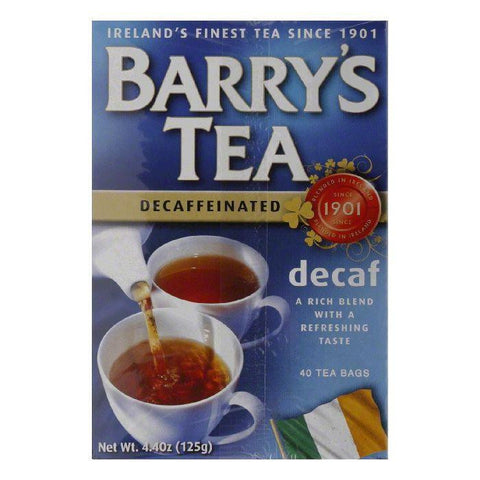 Barrys Decaf Tea, 40 BG (Pack of 12)