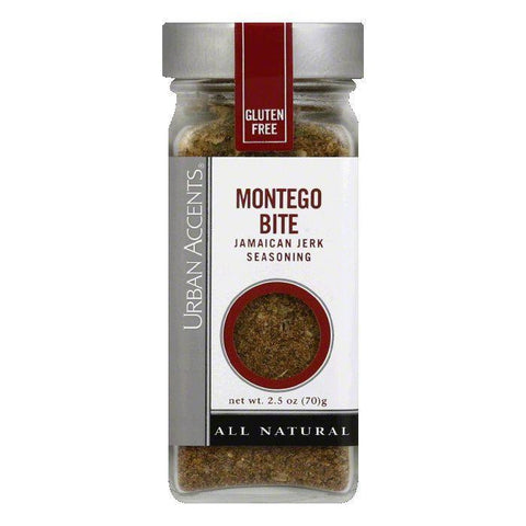 Urban Accents Montego Bite Seasoning, 2.5 OZ (Pack of 4)
