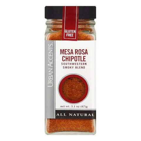 Urban Accents Mesa Rosa Chipotle Seasoning, 3.1 OZ (Pack of 4)