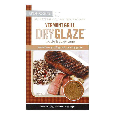 Urban Accents Vermont Grill Dryglaze Seasoning, 2 OZ (Pack of 6)