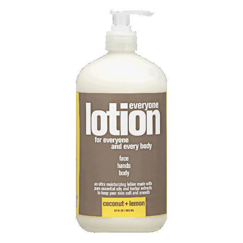 Everyone Coconut + Lemon Lotion, 32 Oz (Pack of 3)