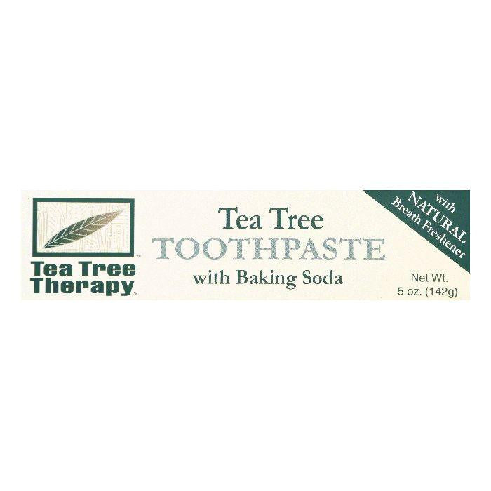 Tea Tree Therapy Tea Tree Toothpaste with Baking Soda, 5 OZ (Pack of 3)