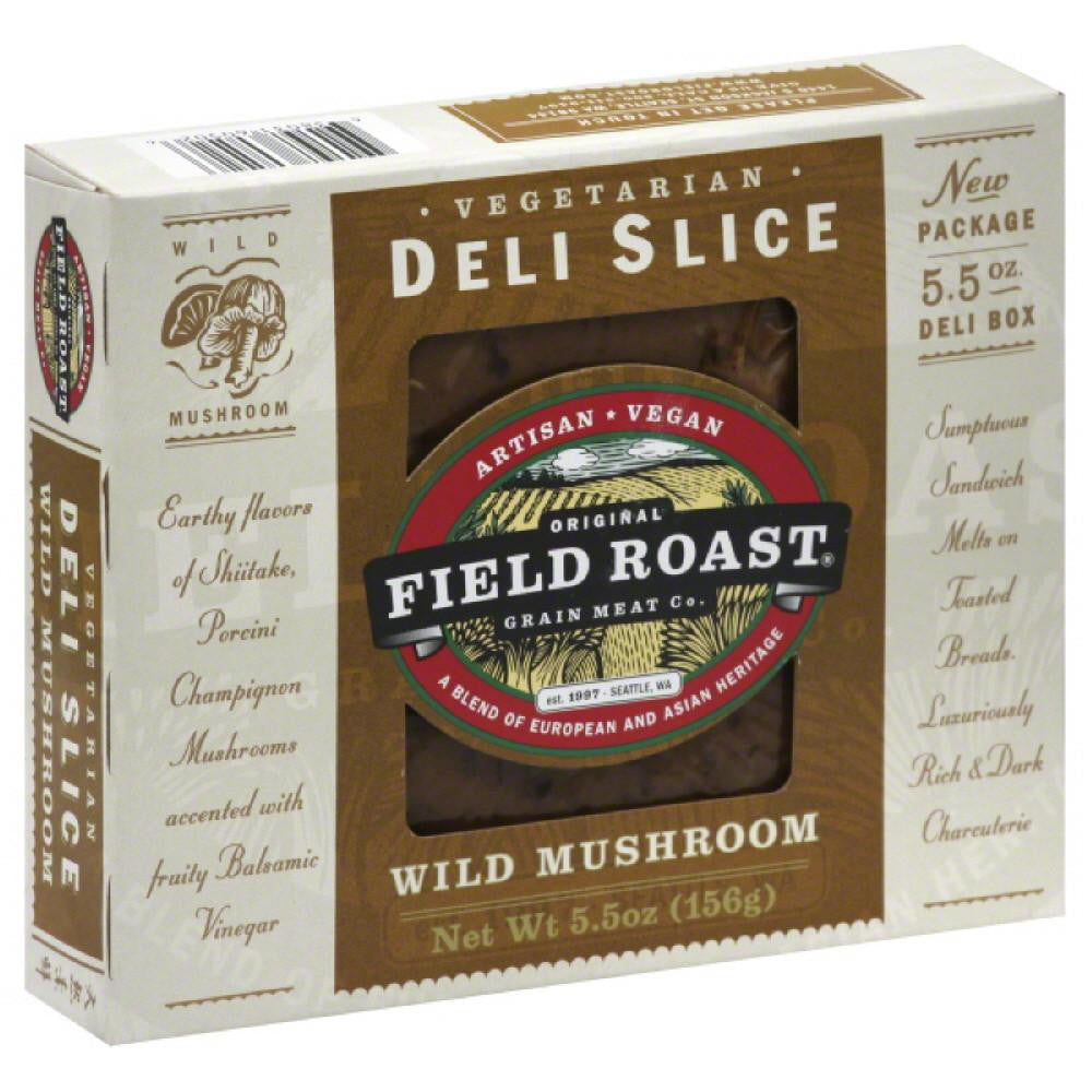 Field Roast Deli Slice Vegetarian Wild Mushroom, 5.5 Oz (Pack of 12)