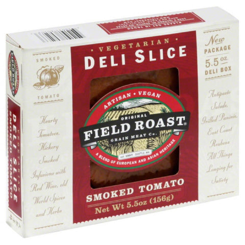 Field Roast Smoked Tomato Deli Slice, 5.5 Oz (Pack of 12)