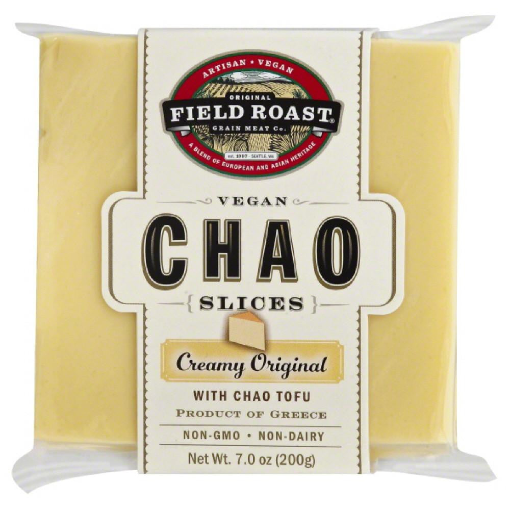 Field Roast Vegan Creamy Original Chao Slices, 7 Oz (Pack of 12)