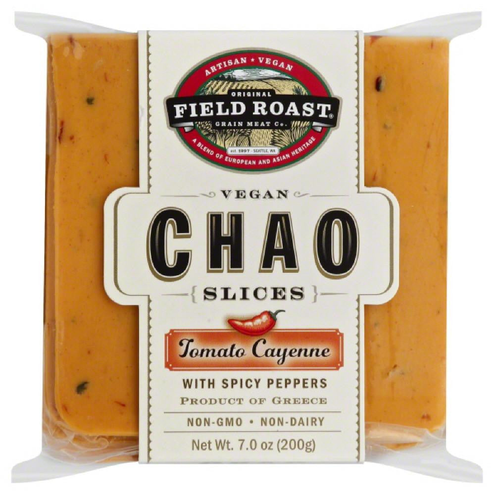 Field Roast Vegan Tomato Cayenne Chao Slices, 7 Oz (Pack of 12)