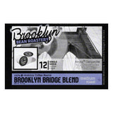 Brooklyn Bean Roastery Brooklyn Bridge Blend Single Serve Medium Roast Coffee Cups, 12 PC (Pack of 6)