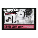 Brooklyn Bean Roastery Corner Donut Shop Single Serve Medium Roast Extra Bold Coffee Cups, 12 PC (Pack of 6)