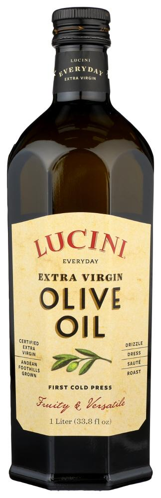 Lucini Extra Virgin Olive Oil, 33.8 OZ (Pack of 6)
