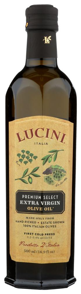 Lucini Olive Oil Extra Virgin Premium Select, 16.9 OZ (Pack of 6)