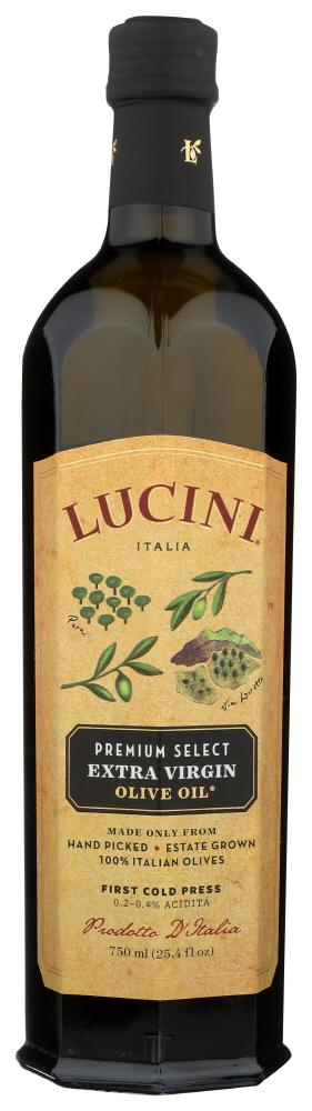 Lucini Olive Oil Extra Virgin Premium Select, 25.4 OZ (Pack of 6)