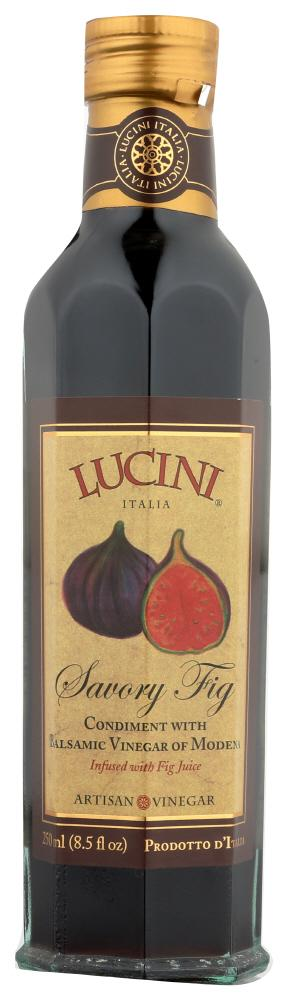 Lucini Savory Fig Condiment with Balsamic Vinegar of Modena, 8.5 OZ (Pack of 6)