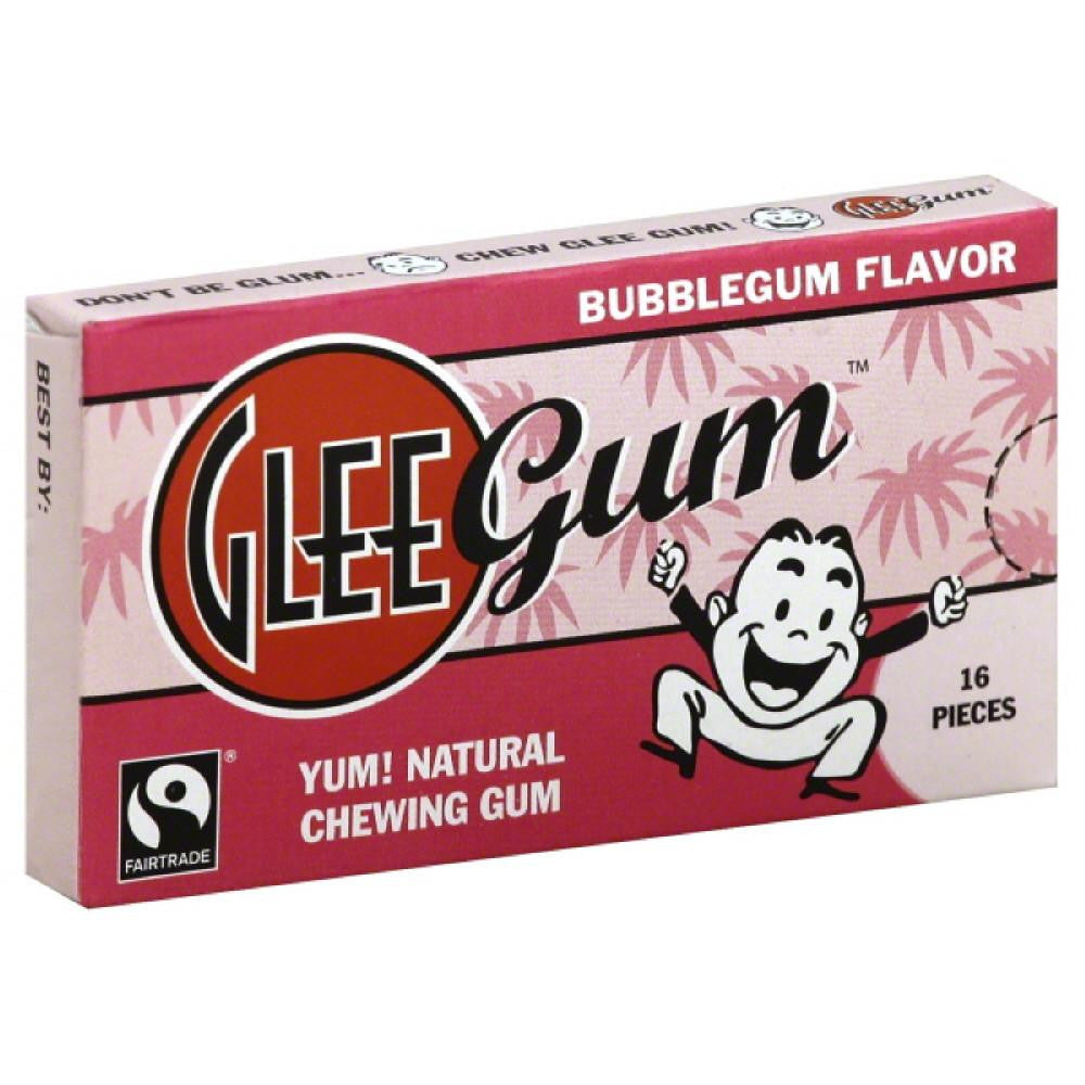 Glee Gum Bubblegum Flavor Chewing Gum, 16 Pc (Pack of 12)