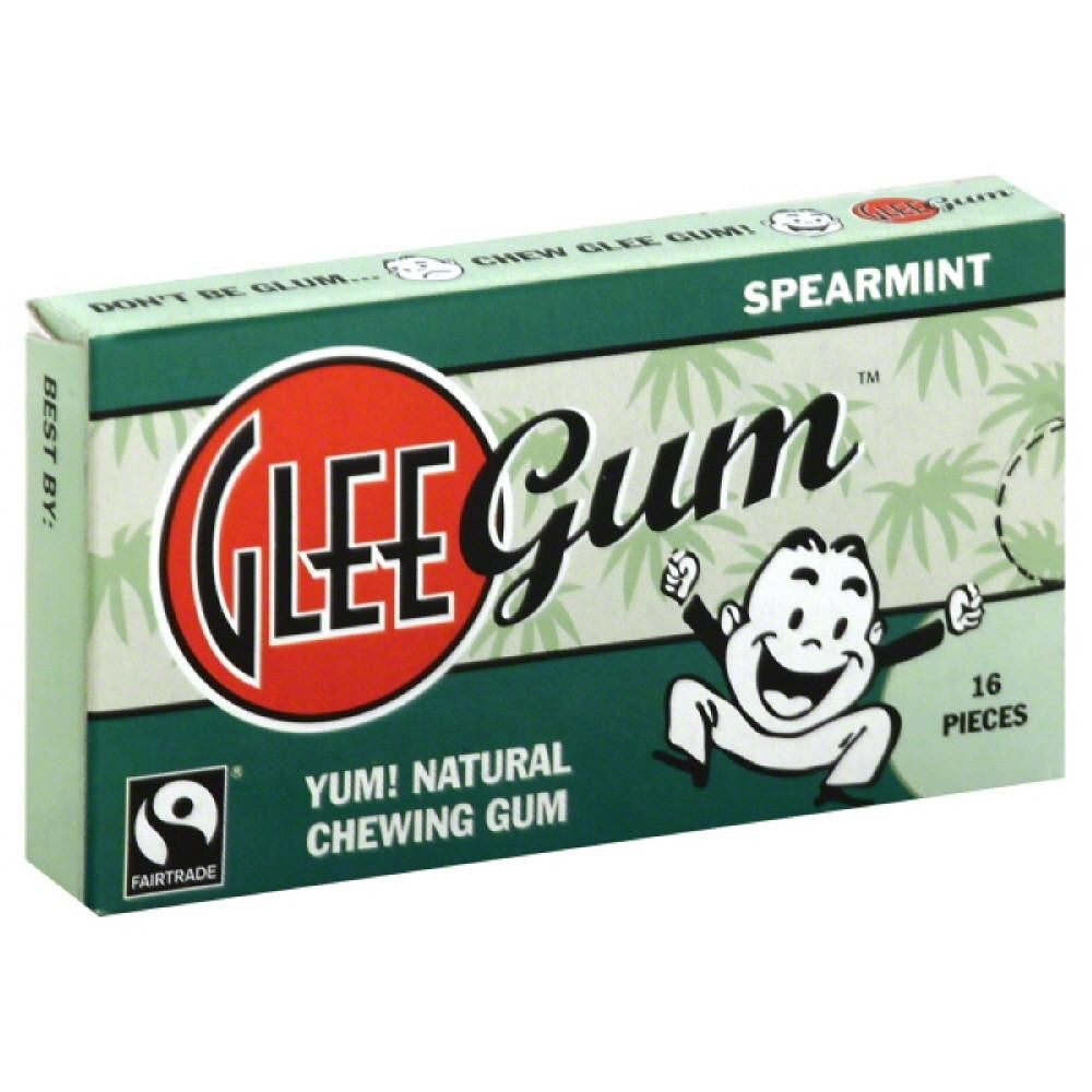 Glee Gum Spearmint Chewing Gum, 16 Pc (Pack of 12)