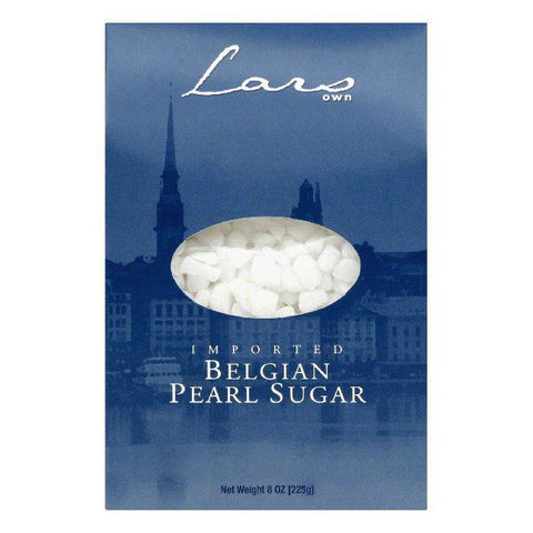 Lar's Own Sugar pearl belgian, 8 OZ (Pack of 6)