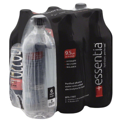 Essentia Purified Alkaline Water, 203 Fo (Pack of 2)