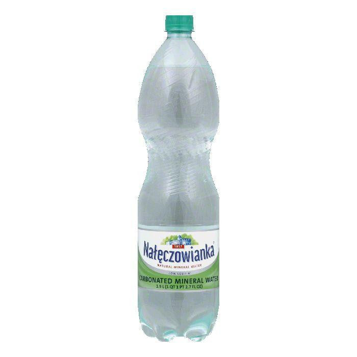 Naleczowianka Carbonated Water, 50.71 OZ (Pack of 6)