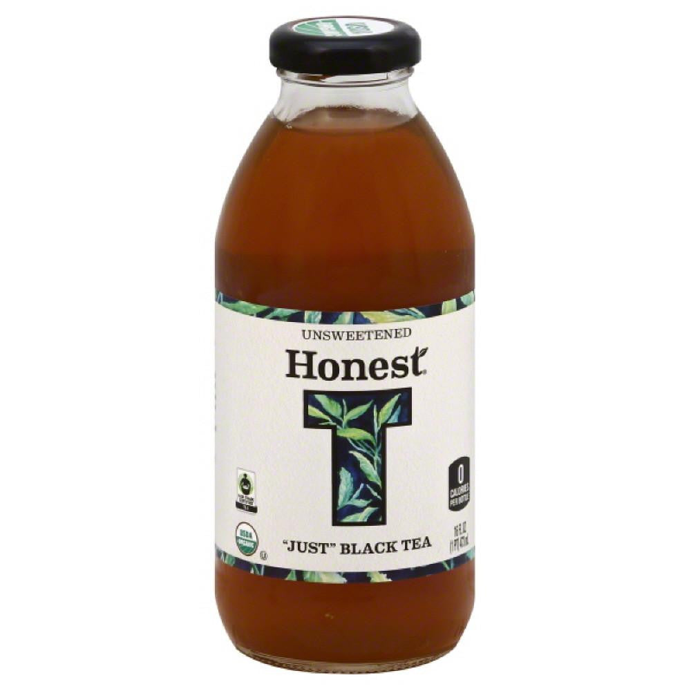 Honest Tea Unsweetened Just Black Tea, 16 Fo (Pack of 12)