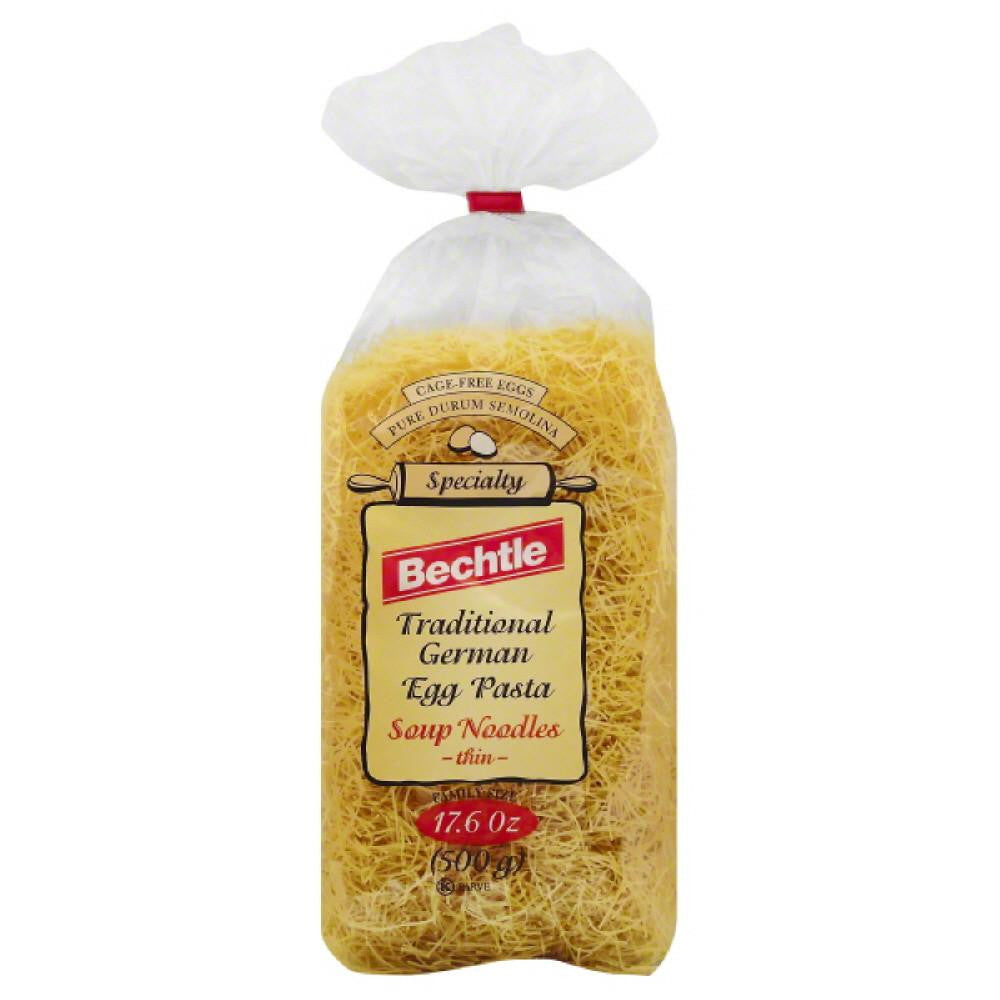 Bechtle Family Size Traditional German Thin Egg Pasta Soup Noodles, 17.6 Oz (Pack of 12)