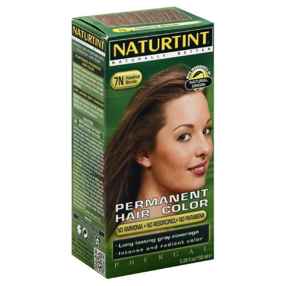 Naturtint Hazelnut Blonde 7N Permanent Hair Color, 5.28 Fo
