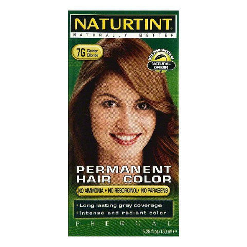 Naturtint Golden Blonde 7G Permanent Hair Color, 5.28 OZ (Pack of 3)