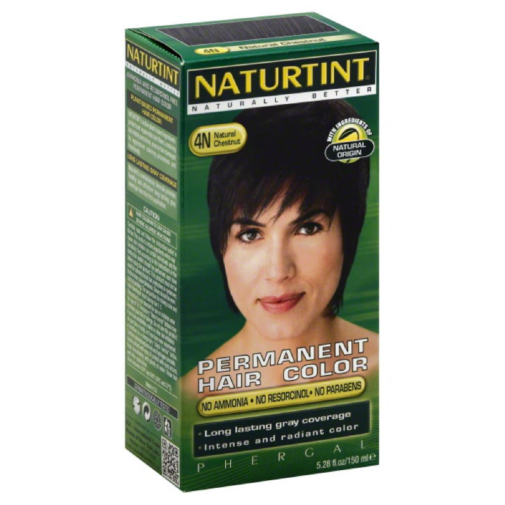 Naturtint Natural Chestnut 4N Permanent Hair Color, 5.28 Fo (Pack of 3)