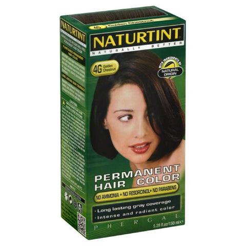 Naturtint Golden Chestnut 4G Permanent Hair Color, 5.28 Fo (Pack of 3)