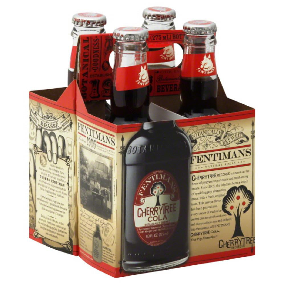 Fentimans Cherry Tree Cola, 37.2 Fo (Pack of 6)