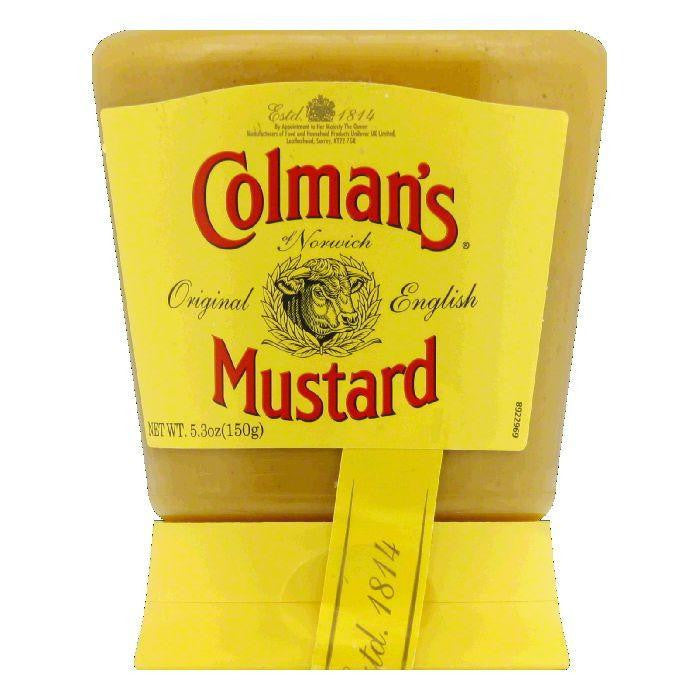 Colmans Mustard Squeezy, 5.3 OZ (Pack of 6)