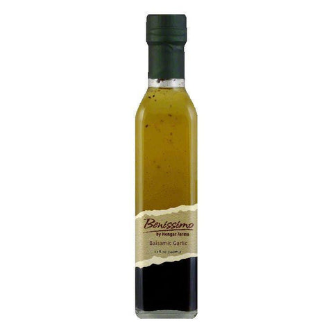 Benissimo Oil Balsamic Garlic, 8.1 OZ (Pack of 6)