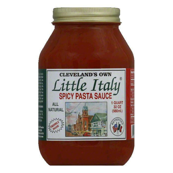 Clevelands Own Spicy Pasta Sauce, 32 Oz (Pack of 6)