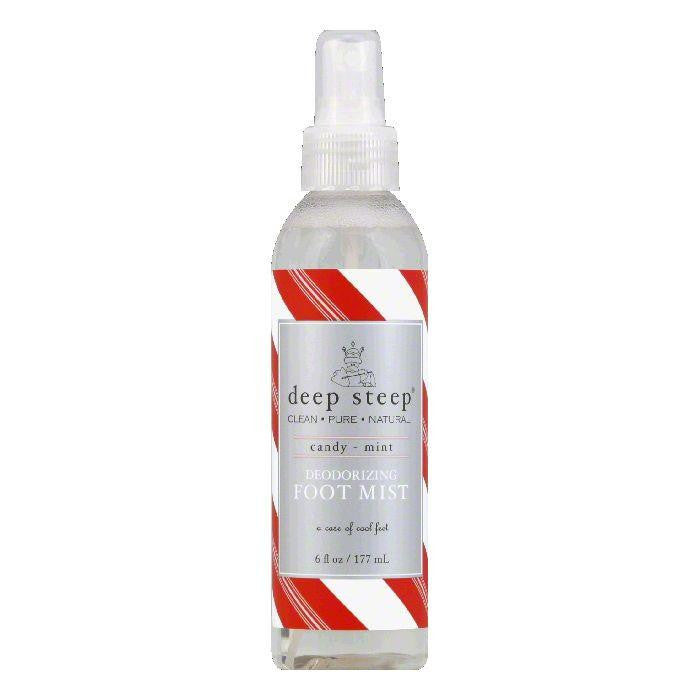 Deep Steep Candy - Mint Deodorizing Foot Mist, 6 OZ