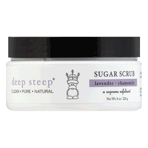 Deep Steep Lavender - Chamomile Sugar Scrub, 8 OZ