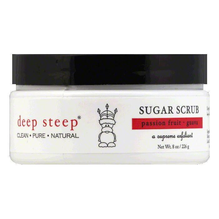 Deep Steep Passion Fruit - Guava Sugar Scrub, 8 OZ
