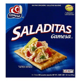 Gamesa Saladitas Crackers, 2 ea (Pack of 12)