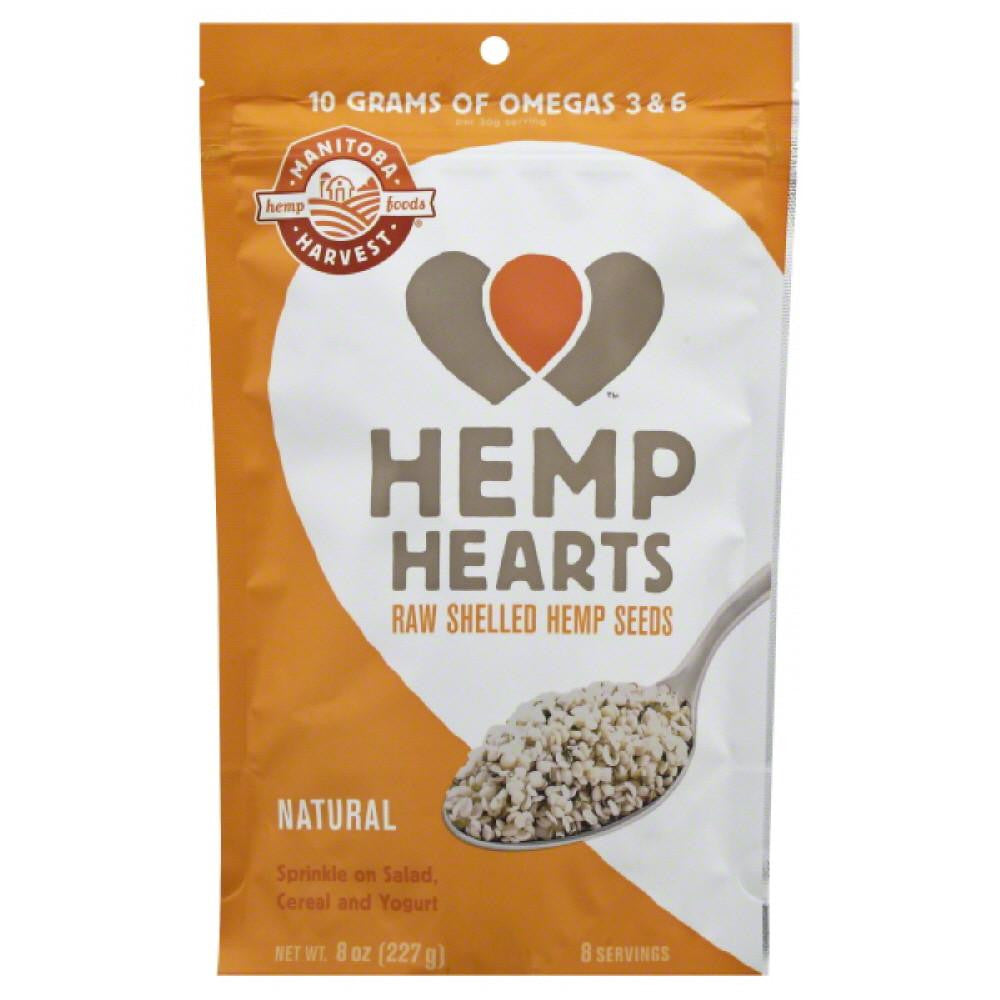 Manitoba Harvest Raw Shelled Hemp Seeds, 8 Oz
