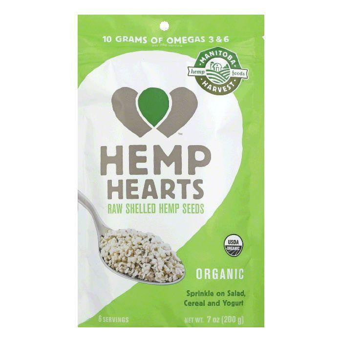 Manitoba Harvest Organic Hemp Hearts, 7 Oz