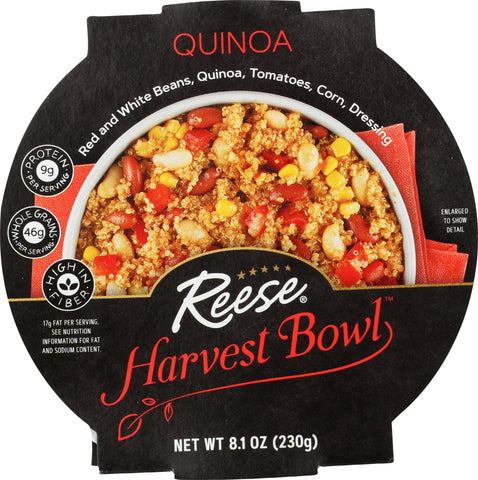 Reese Quinoa Harvest Bowl, 8.00 OZ (Pack of 8)