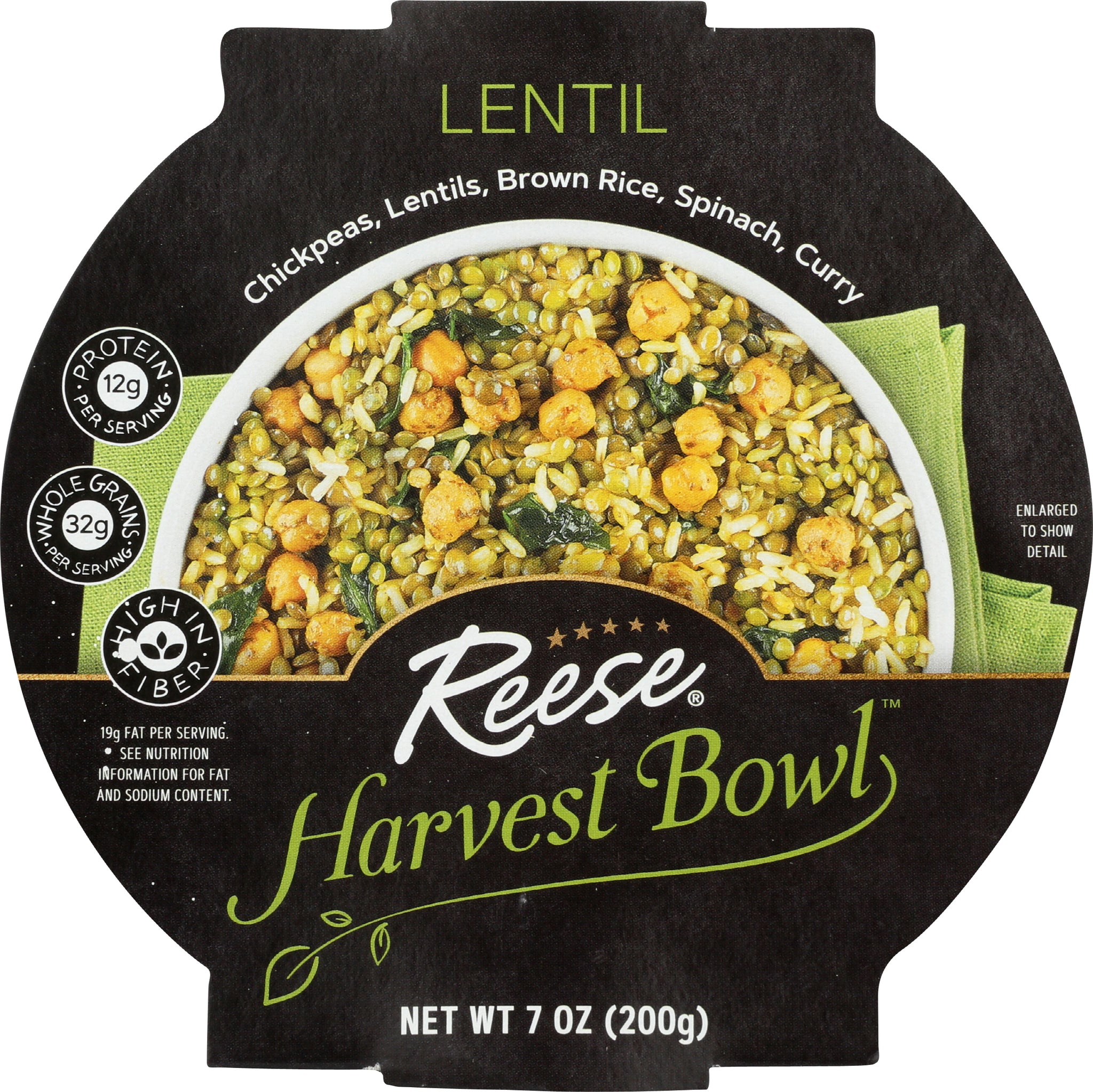 Reese Lentil Harvest Bowl, 8.00 OZ (Pack of 8)