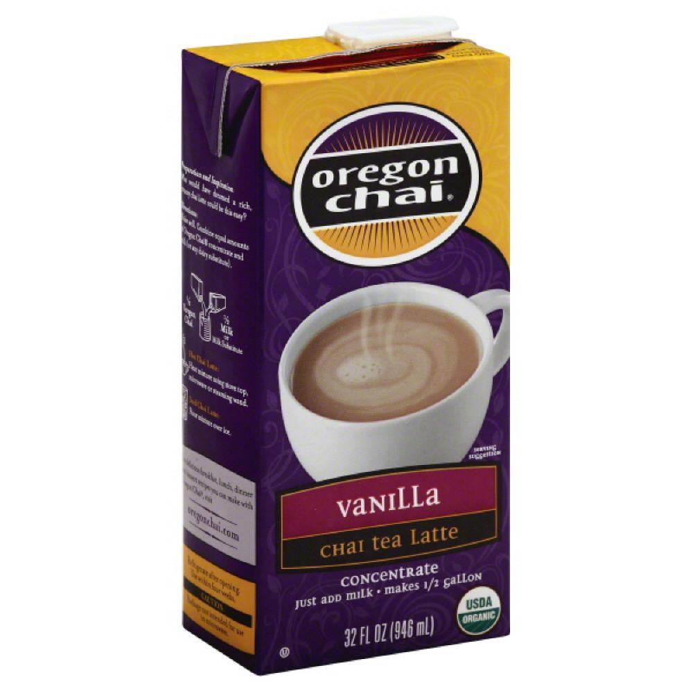 Oregon Chai Vanilla Concentrate Chai Tea Latte, 32 Fo (Pack of 6)