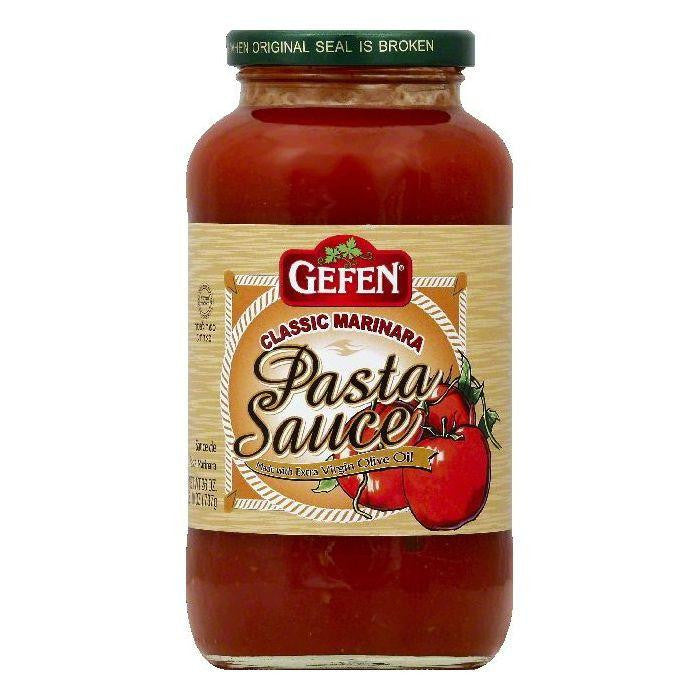 Gefen Classic Marinara Pasta Sauce, 26 OZ (Pack of 12)