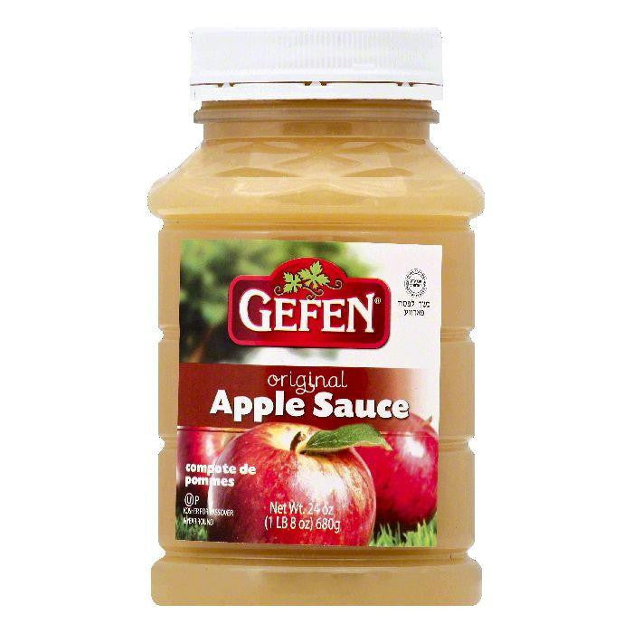 Gefen Original Apple Sauce, 24 OZ (Pack of 12)