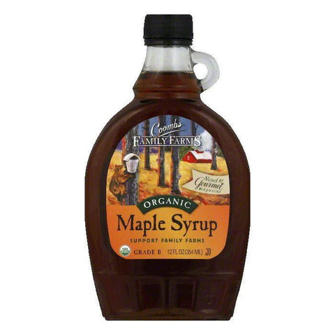 Coombs Maple Syrup Grade B Organic, 12 OZ (Pack of 12)