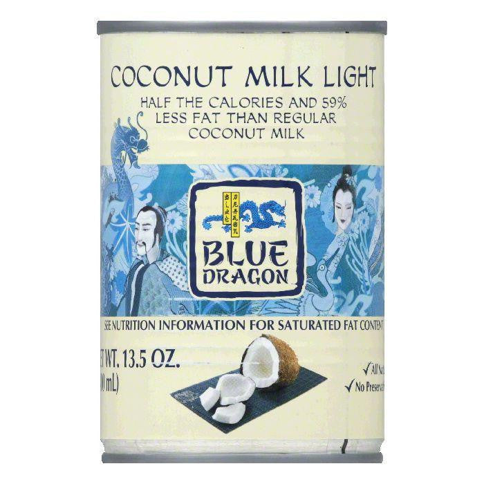 Blue Dragon Light Coconut Milk, 13.5 OZ (Pack of 12)