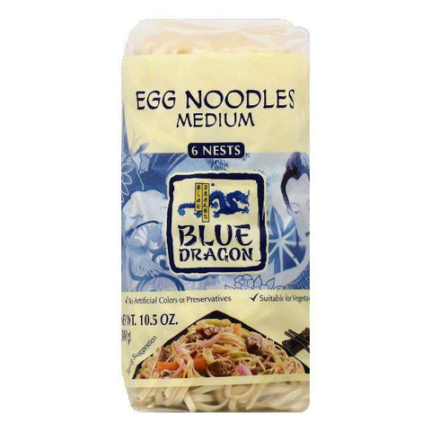 Blue Dragon Medium Egg Noodles, 6 ea (Pack of 8)