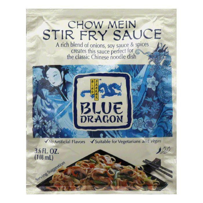 Blue Dragon Chow Mein Stir Fry Sauce, 3.6 Oz (Pack of 12)