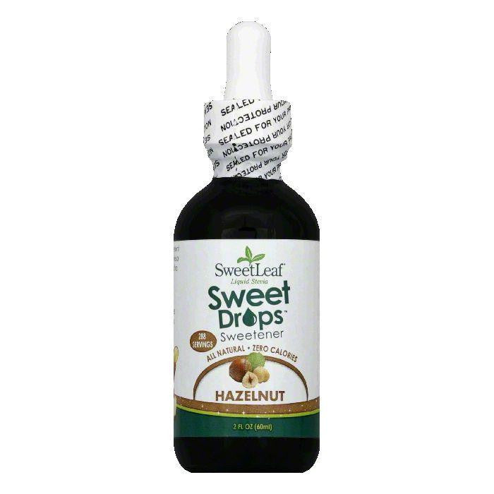 Sweetleaf Stevia Hazelnut Liquid Stevia, 2 OZ (Pack of 3)